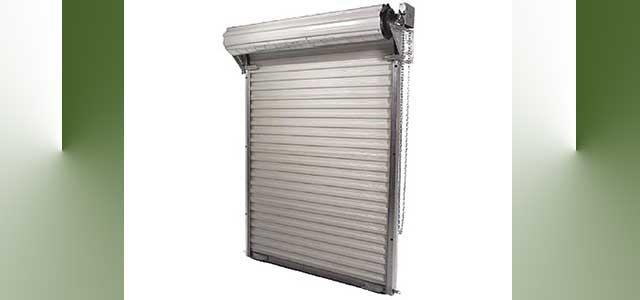 commercial steel roll up greenhouse door