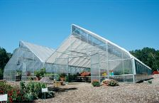 Commercial Greenhouse - Natural Ventilation