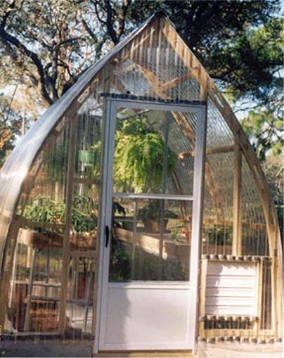 Gothic arch greenhouses review j montgomery for Gothic greenhouse plans