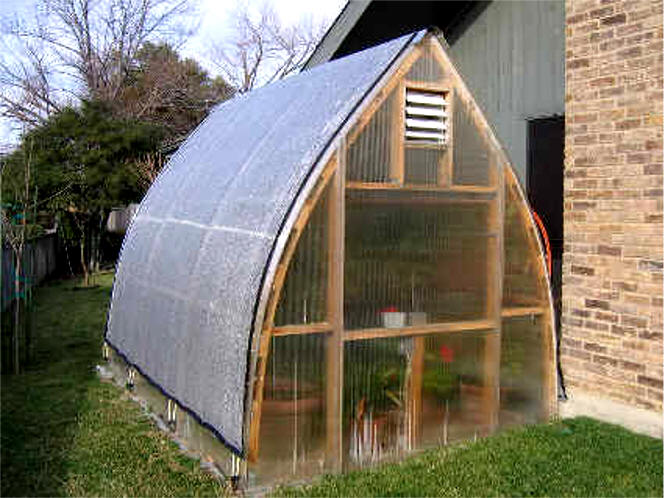 Gothic arch greenhouses review m watson for Gothic greenhouse plans