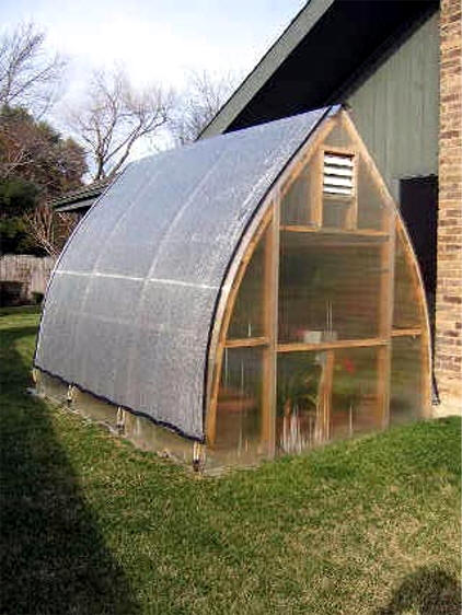 8 X 12 Gothic Arch Greenhouse