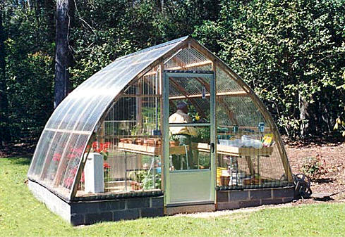 12 X 12 Gothic Arch Greenhouse