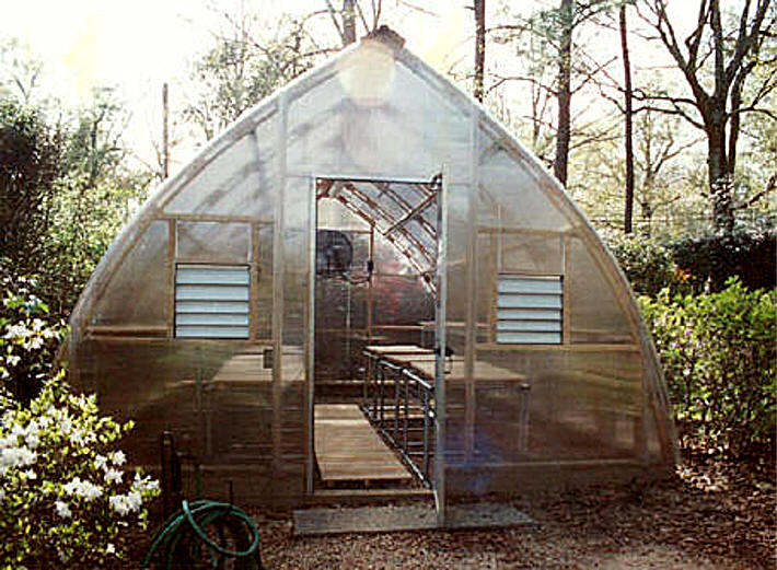 W Simpson Gothic Arch Greenhouse 39 Pictures