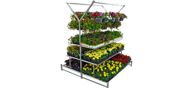 Multi-Level Greenhouse Benches