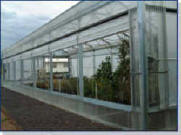 Retractable roof greenhouses -Exterior Walls