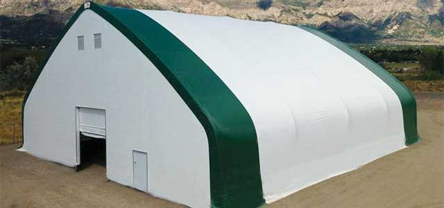 Commercial Fabric Structures Gothic Arch Greenhouses