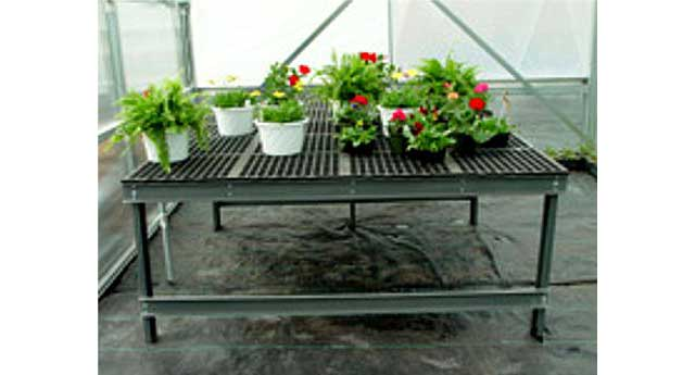 Great Greenhouse Benches A V Lifetime Bench Systems
