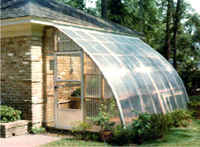 Wooden Greenhouse From Gothic Arch Greenhouses