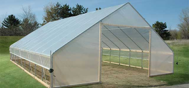 Gable High Tunnel Gothic Arch Greenhouses