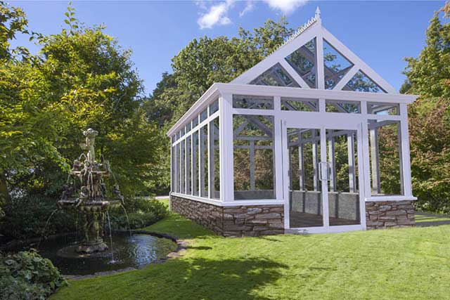 Garden Greenhouse Paradise Gothic Arch Greenhouses