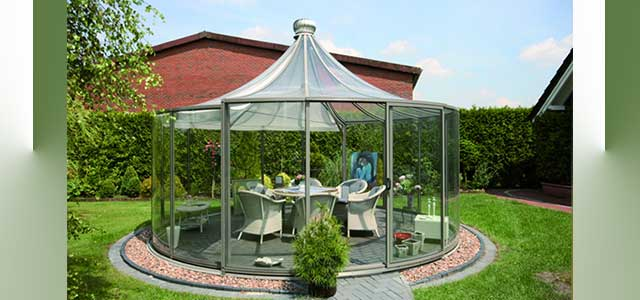 Glass Garden Sunroom Gothic Arch Greenhouses