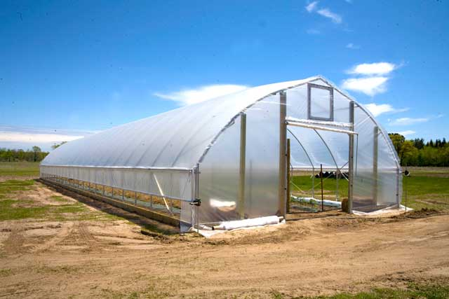 Gothic High Tunnel Gothic Arch Greenhouses