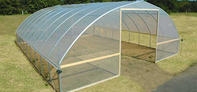 Gothic High Tunnel| Gothic Arch Greenhouses