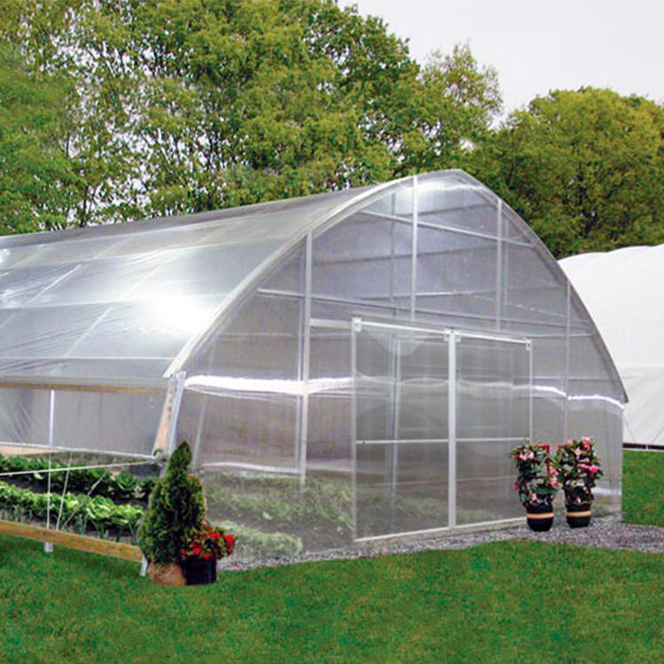 Gothic poly film greenhouses commercial greenhouse supplies for Gothic greenhouse plans