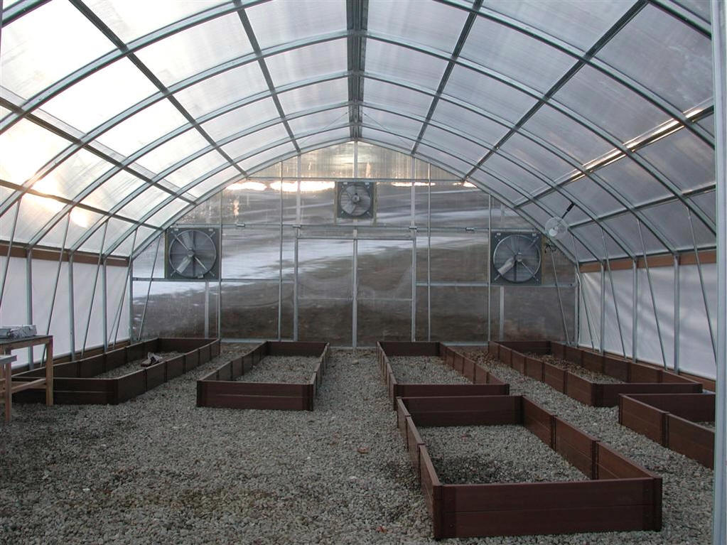 Gothic Polycarbonate Greenhouses Commercial Greenhouse