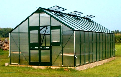 Gro Pro Greenhouses Gothic Arch Greenhouses