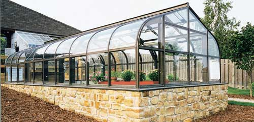 Greenhouse Space Design - Gothic Arch Greenhouses