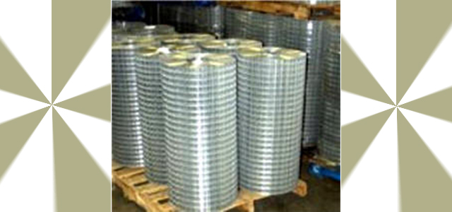 Bench Galvanized Wire Mesh Rolls