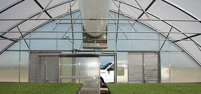 Greenhouse Heater Gothic Arch Greenhouses