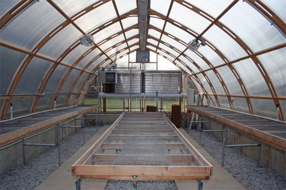Gothic Arch Greenhouses Review Canturbury High School