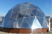 Growing  Dome Greenhouses