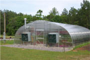 quonset greenhouses and greenhouse packages and teaching greenhouse for school and institutionals