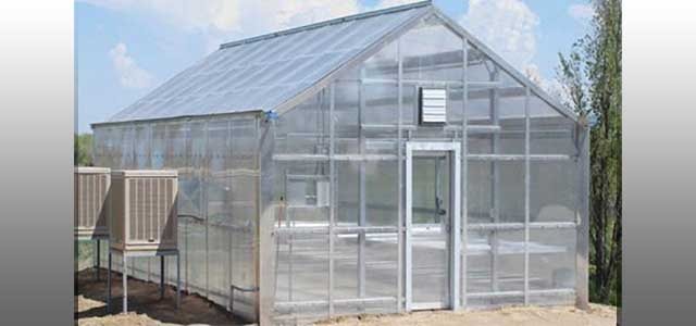 Teaching Greenhouse Gothic Arch Greenhouses