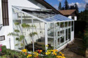 Lean to greenhouses buy top lean to greenhouse kits for Sunroom attached to house