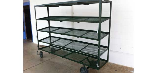 Display Shipping Rack