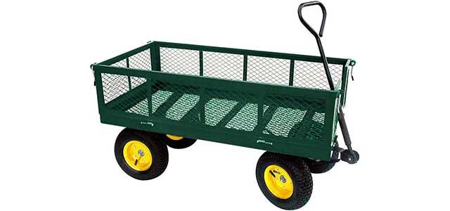 ezhaul metal deck wagon
