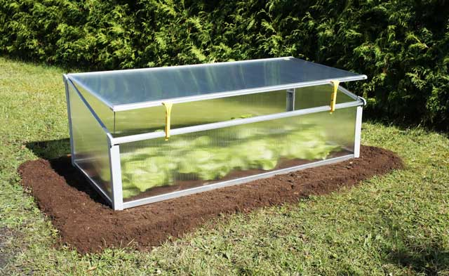 Mini Year Round Cold Frame Gothic Arch Greenhouses