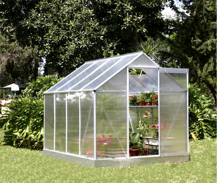 Image gallery small greenhouse for Green home building kits