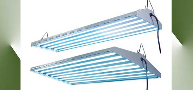 New Wave T5 HO Fluorescent Grow Light Fixture| Gothic Arch Greenhouses
