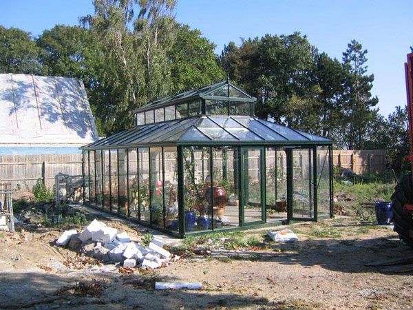 39 old world 39 victorian greenhouses gothic arch greenhouses for Build a victorian greenhouse
