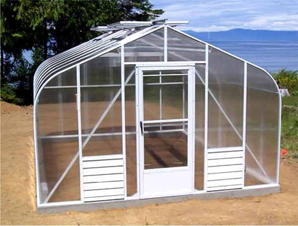 Pacific Glass Greenhouses For Backyard Gothic Arch