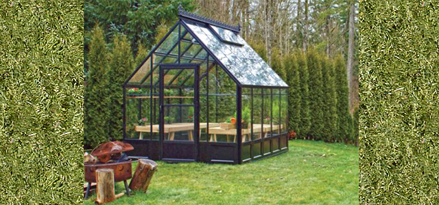 The Parkside Greenhouse Kits Gothic Arch Greenhouses