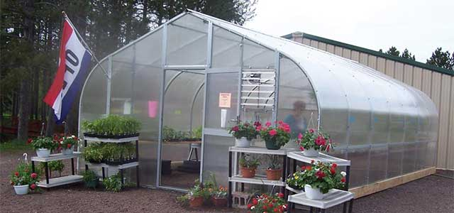 Premium Solar Star Greenhouse
