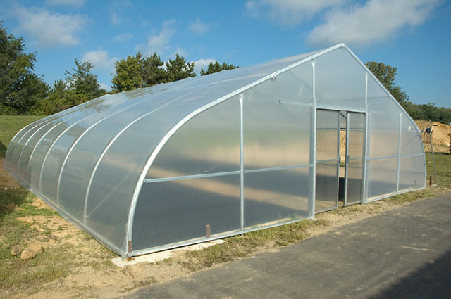 Pt 30 greenhouses gothic arch greenhouses for Gothic arch greenhouse plans