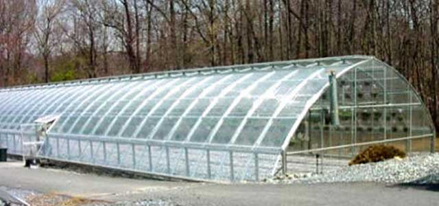 Prefab Sheds California Arched Greenhouse Kits Wooden
