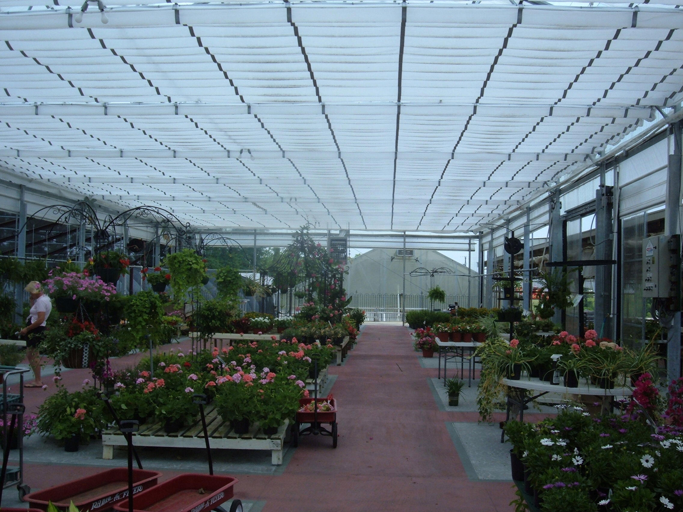 Terrific Flat Roof Retractable Greenhouse Gothic Arch Greenhouses Home Remodeling Inspirations Genioncuboardxyz