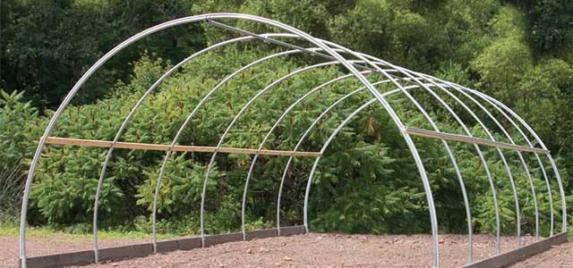 Round Cold Frame| Gothic Arch Greenhouses