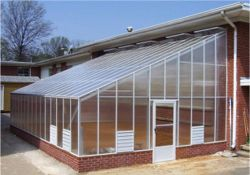 Lean-to Greenhouse