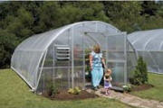 Solar  Star Round Greenhouse