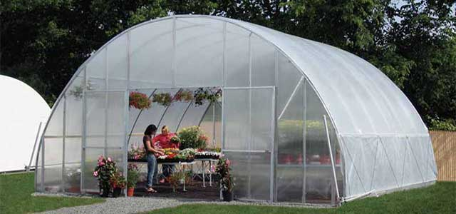 Solar Star Round Greenhouse Gothic Arch Greenhouses