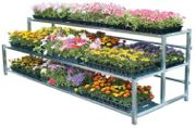 Greenhouse supplies- benches-PT-FB2-tier display