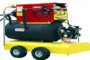 Nursery supplies-The Steam 'N Air Soil Sterilization System is a new innovation, The Steam 'N Air is basically the combination of three separate portable components — the SG10 Steam Generator, the AB28 Aeration Blower, and the optional Tow 'N Dump Aeration Cart.