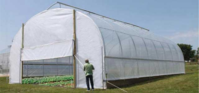 Extra Tall High Tunnels Gothic Arch Greenhouses