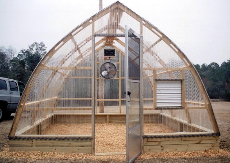 Lovely Gothic Greenhouse Plans 6 Wooden From Arch Greenhouses Inc