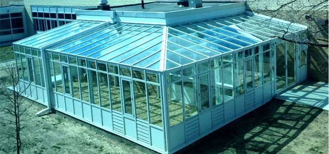 Wraparound Lean-to Greenhouse